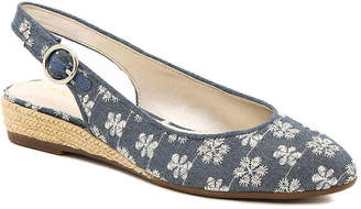 Anne Klein Marta Espadrille Wedge Pump - Women's