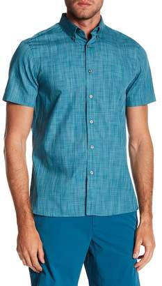 Perry Ellis Space Dye Short Sleeve Shirt