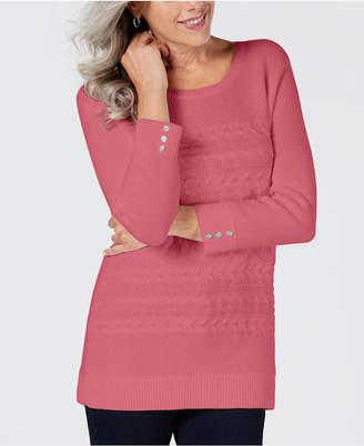 Karen Scott Crewneck Sweater