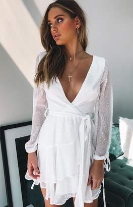 Beginning Boutique Weekend Breeze Dress White