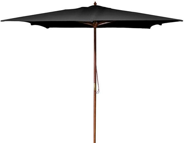 JCPenney Square Market 8.5' Wood Umbrella