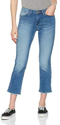 Only Women's Onlnew Sissi Reg Straight Crop Cre171906 Jeans, Light Blue Denim