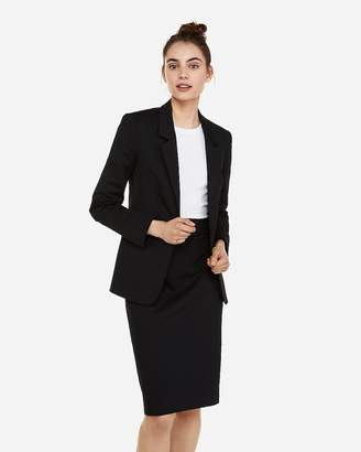 Express Mvmnt Notch Lapel Boyfriend Blazer
