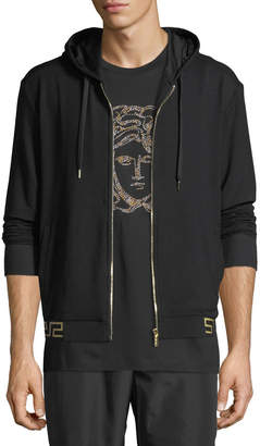 Versace Iconic Hooded Sweat Jacket