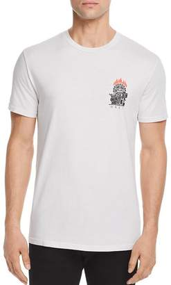 Obey Printing Press Graphic Crewneck Tee