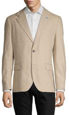 Tailorbyrd Notch Lapel Linen & Cotton Sportcoat