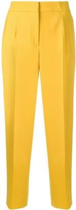 Oscar de la Renta high-rise tailored trousers