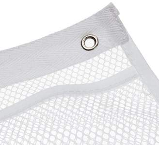 Womail 6 Pocket Bathroom Tub Shower Bath Hanging Mesh Organizer Caddy Storage Bag+ Hook