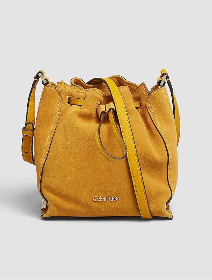 Calvin KleinKeyla Suede Bucket Bag