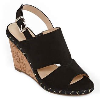 Liz Claiborne Johanna Womens Wedge Sandals