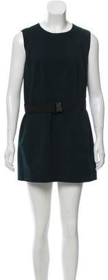 Akris Punto Sleeveless Mini Dress