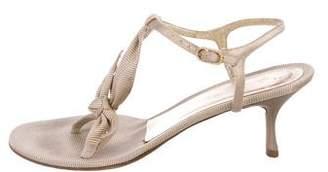 Chanel Filé CC Sandals