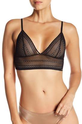 Calvin Klein Longline Lace Triangle Bralette - Pack of 2