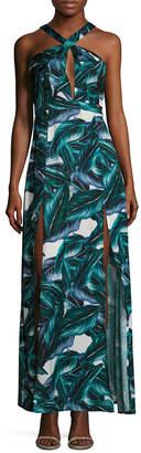 Style Stalker STYLESTALKER Stylestalker Sierra Printed Maxi Dress