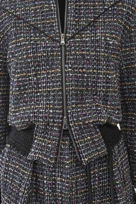 3.1 Phillip Lim Tweed Bomber Jacket
