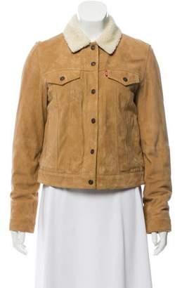 Levi's Faux Fur Suede Jacket