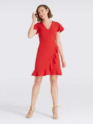 Draper James Solid Flutter Dress