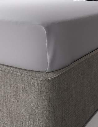 Marks and Spencer Egyptian Cotton 400 Thread Count Sateen Flat Sheet