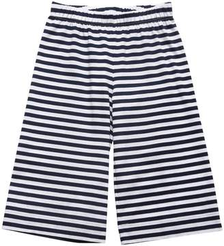 Il Gufo Striped Cotton Jersey Pants