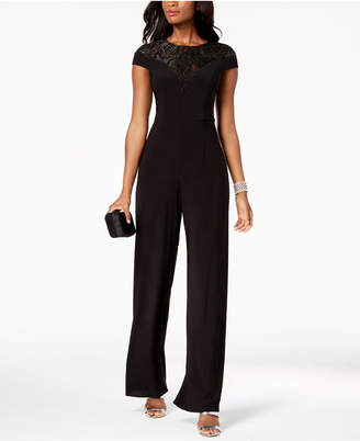 Adrianna Papell Sequined Jersey Jumpsuit, Regular & Petite