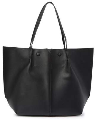 Sondra Roberts Leather Tote Bag