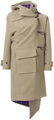 Balenciaga Pulled cashmere duffle coat