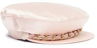 Eugenia Kim 'Marina' curb chain satin cap