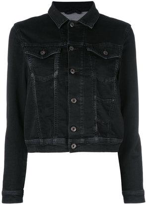 Diesel 'Niner' denim jacket $241.21 thestylecure.com