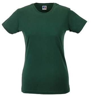 Russell Athletic Womens Russell Slim Crew Neck Short Sleeve tshirt