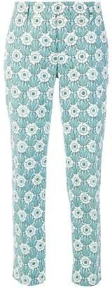 Prada novelty print trousers
