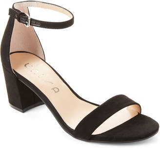 Unisa Black Rewni Ankle Strap Sandals
