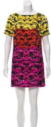 Mary Katrantzou Silk Floral Dress