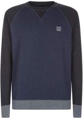 BOSS ORANGE Logo Embroidered Sweatshirt