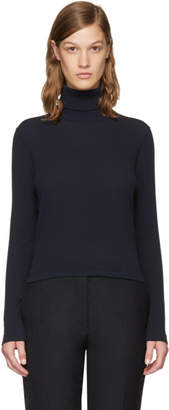 Thom Browne Navy Long Sleeve Turtleneck