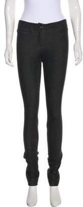 Diane von Furstenberg Slim Jai Mid-Rise Skinny Jeans Black Slim Jai Mid-Rise Skinny Jeans