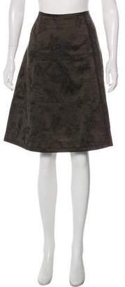 Dries Van Noten Embroidered Knee-Length Skirt