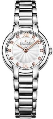 Dreyfuss & Co Dreyfuss Womens Analogue Classic Quartz Watch with Stainless Steel Strap DLB00060/D/01