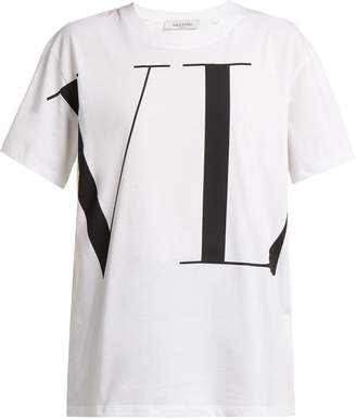 Valentino Logo-print cotton T-shirt