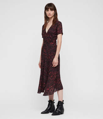 AllSaints Seeta Rosey Dress