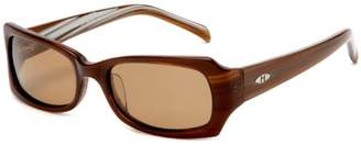 Heat Women's H26 Polarized Oval-Wrap Sunglasses