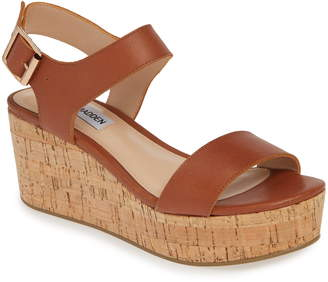 52149e04435f Steve Madden Brown Wedges - ShopStyle
