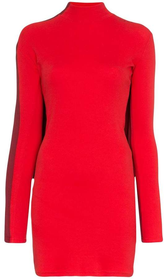 Y / Project High neck cotton-blend dress and top