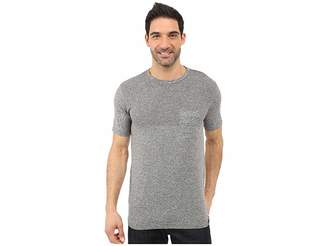 The North Face Short Sleeve Engine Crew (Mid Grey Heather