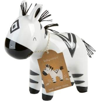 Baby Aspen Zebra Ceramic Bank