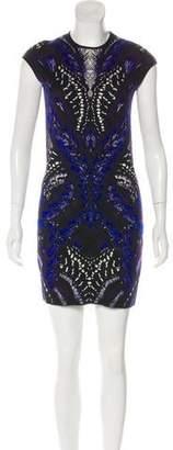Alexander McQueen Butterfly Wool Dress
