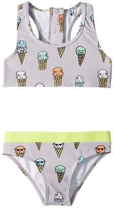 Stella McCartney Koko Ice Cream Print Two-Piece Swimsuit Girl's Swimwear Sets