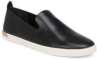 Vince Vero Leather Slip-On Sneakers