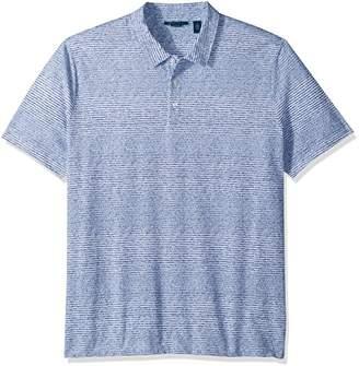 Perry Ellis Men's Printed Cotton Polo