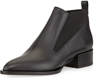 Vince Yarrow Leather Chelsea Boot, Black $399 thestylecure.com