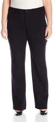 NYDJ Women's Plus Size Isabella Trousers in Knit Ponte